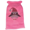 Mirage Pet Products Santa Penguin Rhinestone Knit Pet Sweater MD Pink