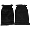 Mirage Pet Products Plain Knit Pet Sweater MD Black