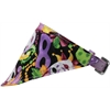 Mirage Pet Products Mardi Gras Bandana Pet Collar Lavender Size 10