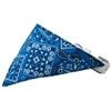 Mirage Pet Products Blue Western Bandana Pet Collar White Size 20