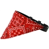Mirage Pet Products Red Western Bandana Pet Collar Black Size 18