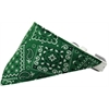 Mirage Pet Products Emerald Green Western Bandana Pet Collar White Size 12