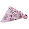Mirage Pet Products Light Pink Western Bandana Pet Collar Light Pink Size 12