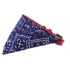 Mirage Pet Products Purple Western Bandana Pet Collar Red Size 18