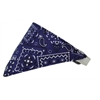 Mirage Pet Products Purple Western Bandana Pet Collar White Size 12