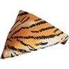 Mirage Pet Products Tiger Print Bandana Pet Collar  Black Size 12
