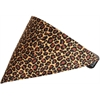 Mirage Pet Products Leopard Print Bandana Pet Collar  Black Size 12
