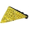 Mirage Pet Products Yellow Western Bandana Pet Collar Black Size 12