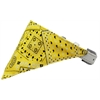 Mirage Pet Products Yellow Western Bandana Pet Collar White Size 14
