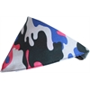 Mirage Pet Products Urban Chick Camo Bandana Pet Collar  Black Size 12