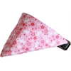 Mirage Pet Products Pink Scottie Bandana Pet Collar  Black Size 16