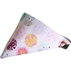 Mirage Pet Products Princess Time Bandana Pet Collar  Black Size 12