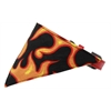 Mirage Pet Products Orange Flame Bandana Pet Collar Red Size 10