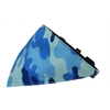 Mirage Pet Products Blue Camo Bandana Pet Collar Black Size 14