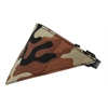 Mirage Pet Products Brown Camo Bandana Pet Collar Black Size 18