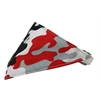 Mirage Pet Products Red Camo Bandana Pet Collar White Size 10