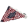 Mirage Pet Products America the Beautiful Bandana Pet Collar White Size 16