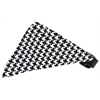 Mirage Pet Products Black Houndstooth Bandana Pet Collar Black Size 12