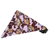 Mirage Pet Products Funky Monkey Bandana Pet Collar Black Size 14