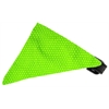 Mirage Pet Products Lime Green Swiss Dots Bandana Pet Collar Black Size 14