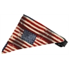 Mirage Pet Products Old Glory Bandana Pet Collar Black Size 10