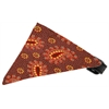 Mirage Pet Products Autumn Pretty Paisley Bandana Pet Collar Black Size 12
