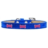 Mirage Pet Products Pink Bone Widget Dog Collar Blue Ice Cream Size 12