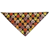 Mirage Pet Products Crazy Skulls Tie-On Pet Bandana Size Large