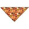 Mirage Pet Products Witches Delight Tie-On Pet Bandana Size Large