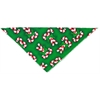 Mirage Pet Products Candy Cane Tie-On Pet Bandana Size Large