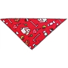 Mirage Pet Products Candy Land Tie-On Pet Bandana Size Large