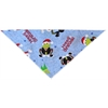 Mirage Pet Products Hoppy Christmas Tie-On Pet Bandana Size Large