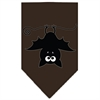 Mirage Pet Products Batsy the Bat Screen Print Bandana Brown Small