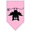 Mirage Pet Products Batsy the Bat Screen Print Bandana Light Pink Small