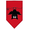 Mirage Pet Products Batsy the Bat Screen Print Bandana Red Large