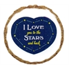 Mirage Pet Products Love you to Moon and Back Dog Treats - 12 Pack
