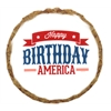 Mirage Pet Products Happy Birthday America Dog Treats - 6 pack