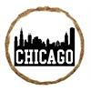 Mirage Pet Products Chicago Skyline Dog Treats - 12 Pack