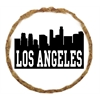 Mirage Pet Products Los Angeles Skyline Dog Treats - 12 Pack