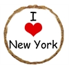 Mirage Pet Products I Heart New York Dog Treats - 12 Pack