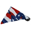 Mirage Pet Products Texas Flag Bandana Pet Collar Black Size 16