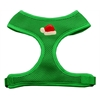 Mirage Pet Products Santa Hat Chipper Emerald Harness Large