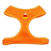 Mirage Pet Products Candy Corn Chipper Orange Harness Medium