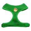 Mirage Pet Products Santa Face Chipper Emerald Harness Medium