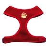 Mirage Pet Products Santa Face Chipper Red Harness Large
