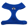 Mirage Pet Products Rainbow Chipper Blue Harness Small