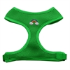 Mirage Pet Products Rainbow Chipper Emerald Harness Medium
