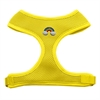 Mirage Pet Products Rainbow Peace Sign Chipper Yellow Harness Large