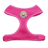 Mirage Pet Products White Daisies Chipper Pink Harness Small