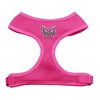 Mirage Pet Products Purple Butterflies Chipper Pink Harness Small